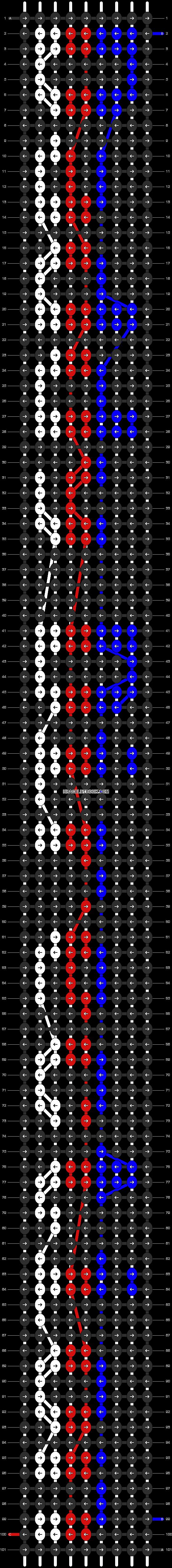 Alpha pattern #6111 pattern
