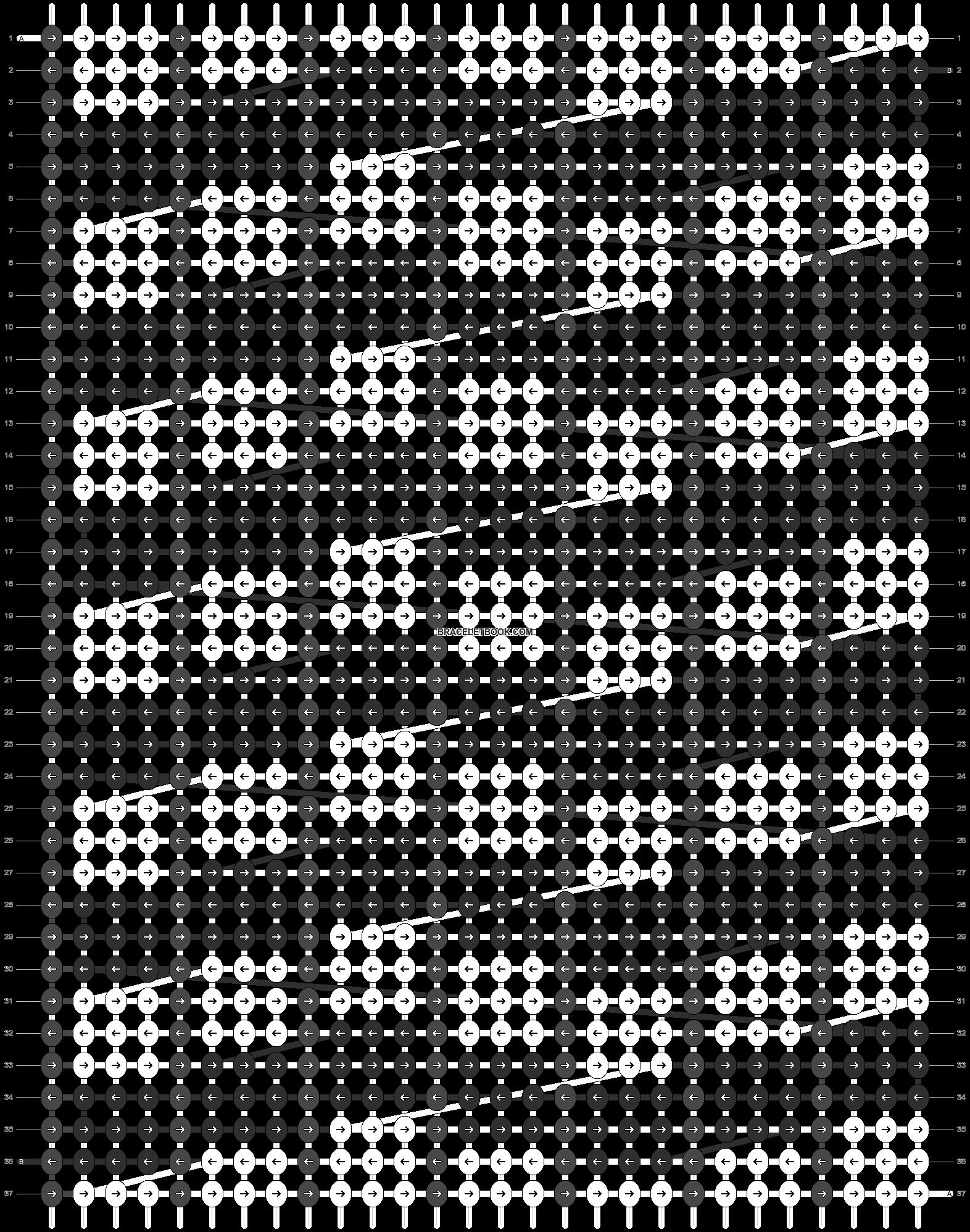Alpha pattern #6112 pattern