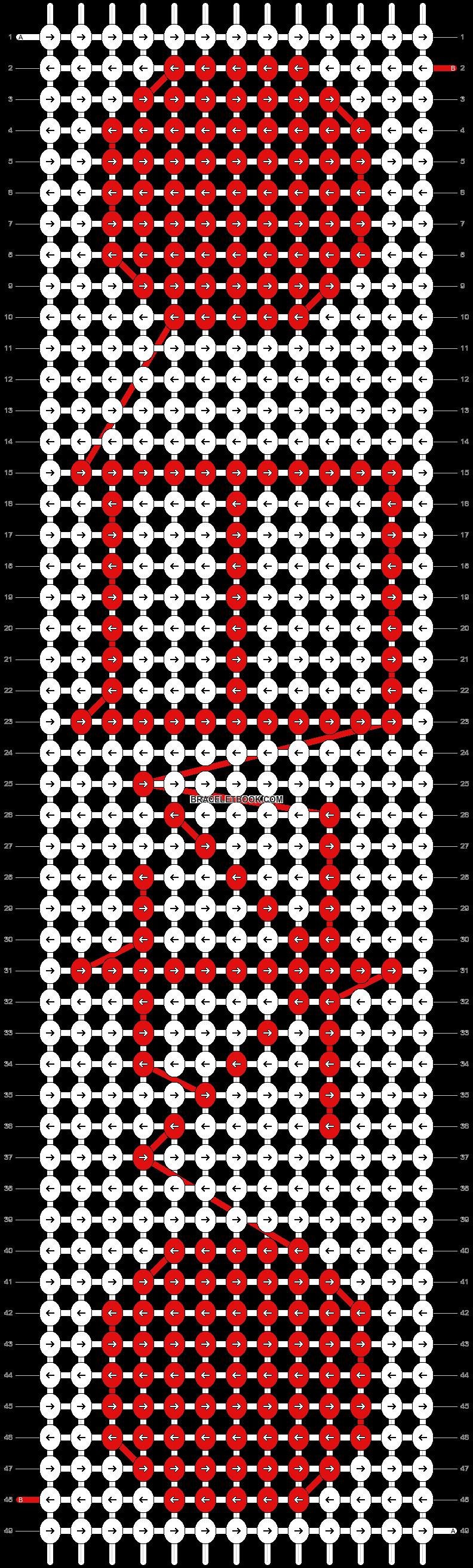 Alpha pattern #6117 pattern
