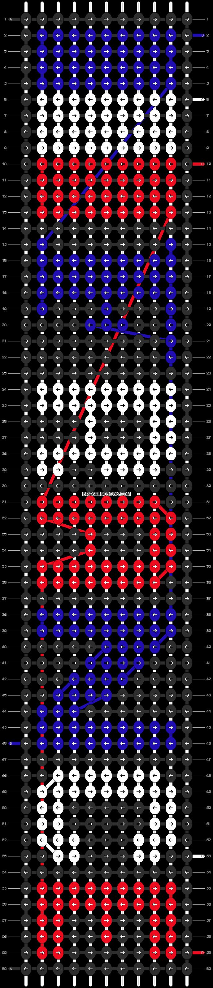 Alpha pattern #6118 pattern