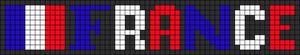 Alpha Friendship Bracelet Pattern #6118