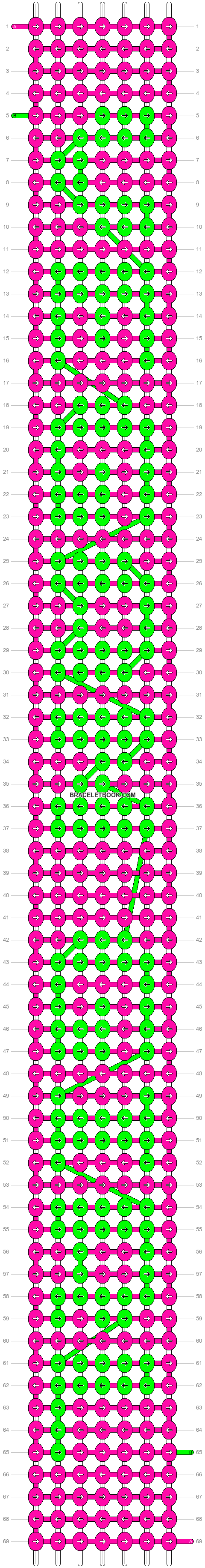 Alpha pattern #6120 pattern