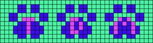 Alpha pattern #6124