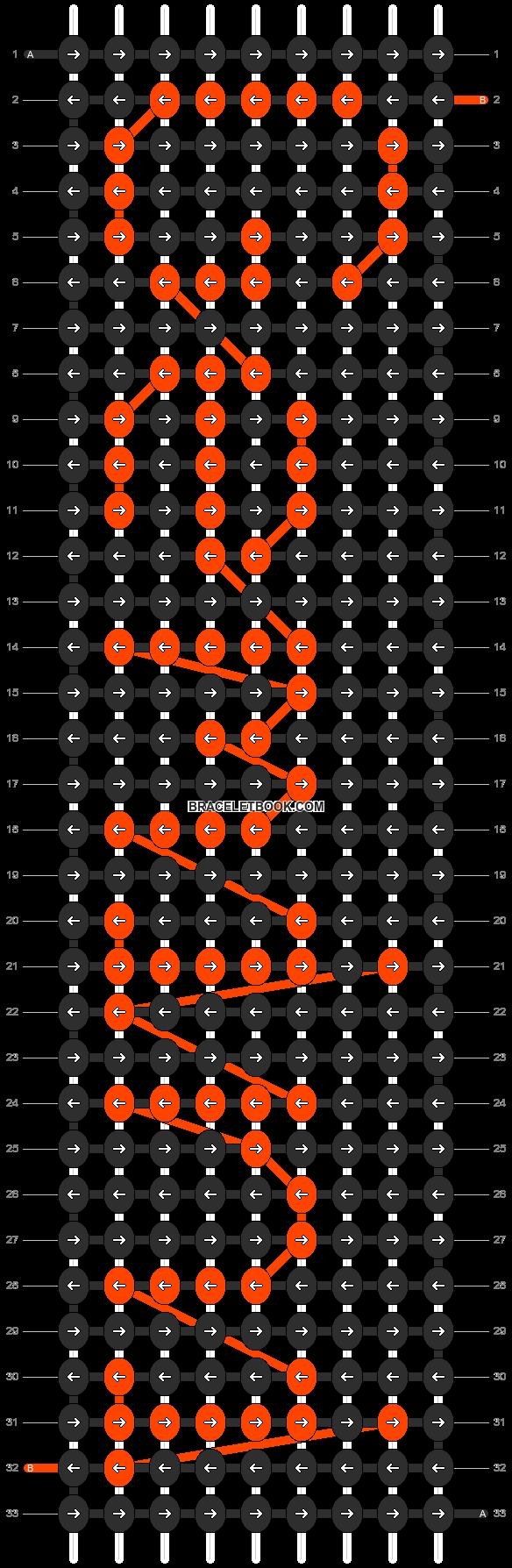 Alpha pattern #6130 pattern