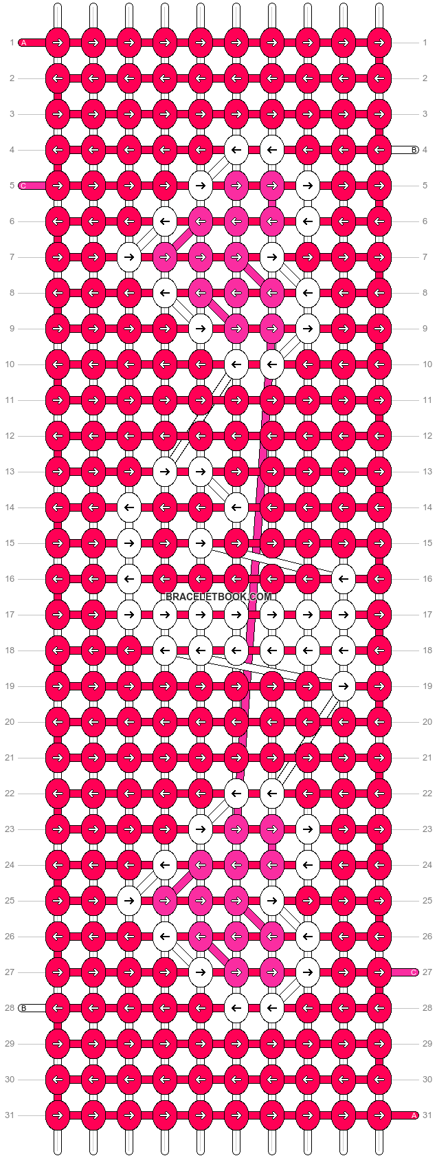 Alpha pattern #6132 pattern
