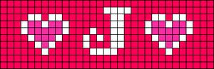 Alpha pattern #6132