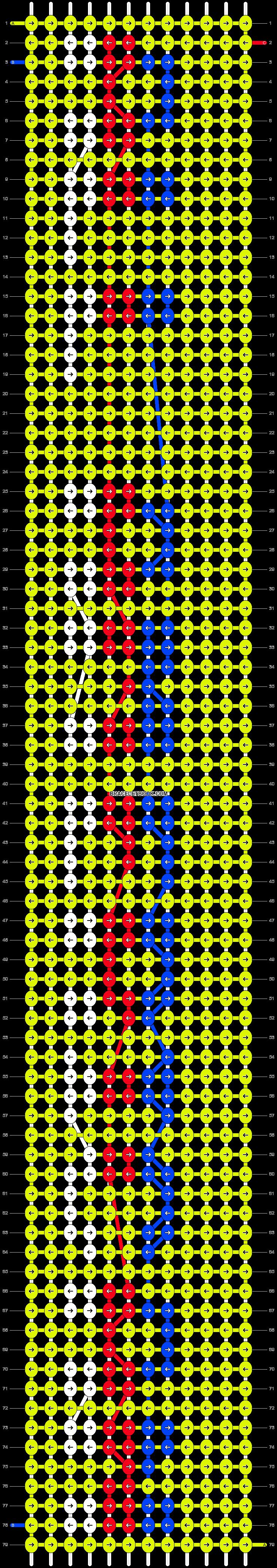 Alpha pattern #6139 pattern