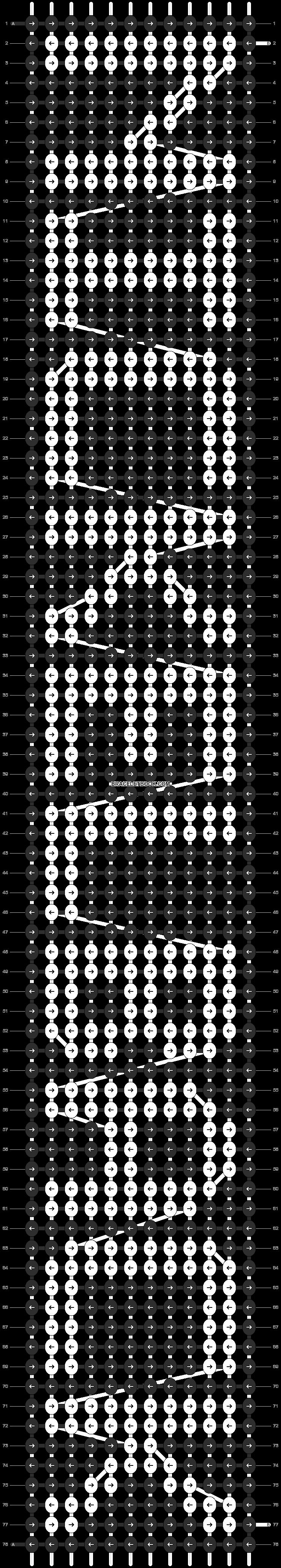 Alpha pattern #6140 pattern
