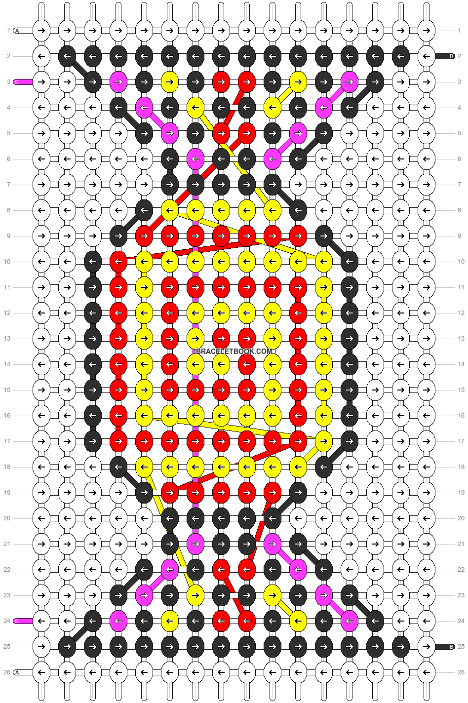 Alpha pattern #6142 pattern