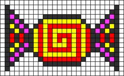 Alpha pattern #6142