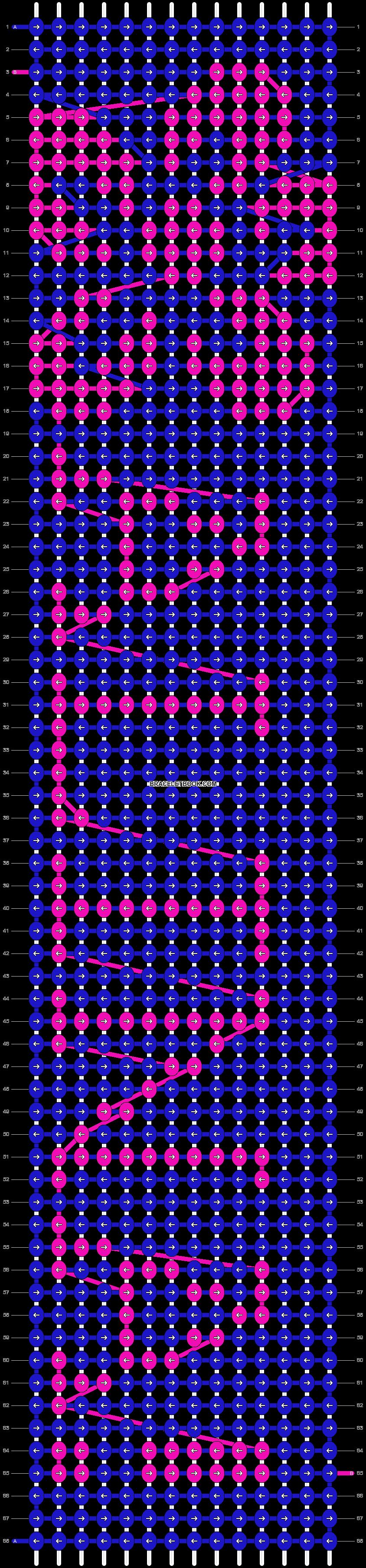 Alpha pattern #6143 pattern