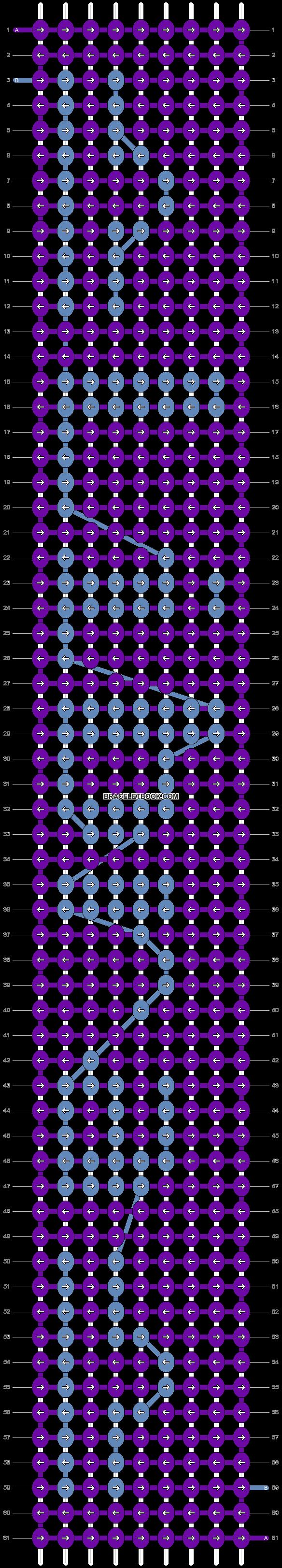 Alpha pattern #6170 pattern