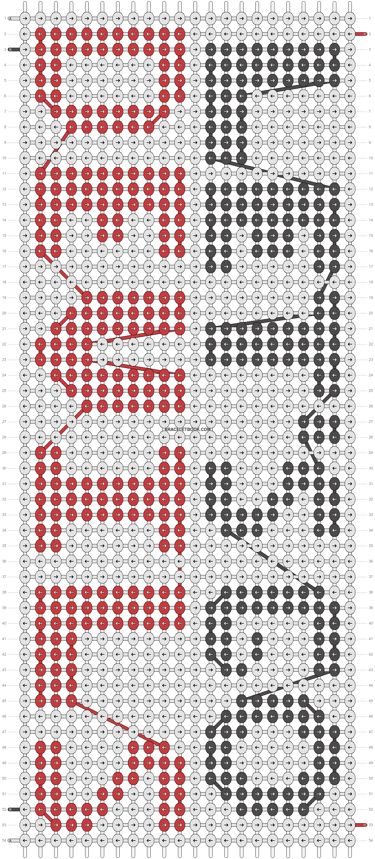 Alpha pattern #6178 pattern