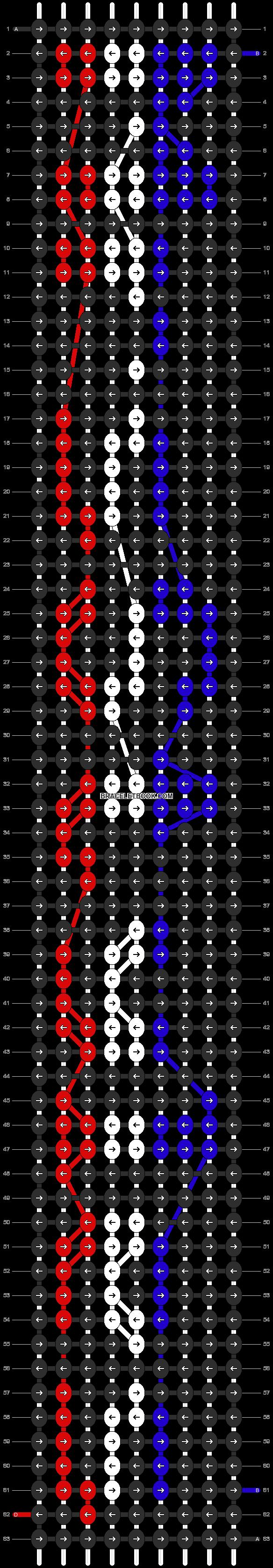 Alpha pattern #6182 pattern