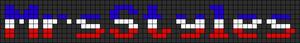 Alpha pattern #6182