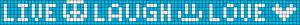 Alpha Friendship Bracelet Pattern #6185