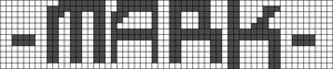 Alpha pattern #6186
