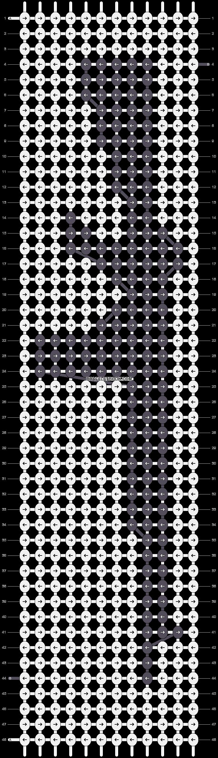 Alpha pattern #6193 pattern