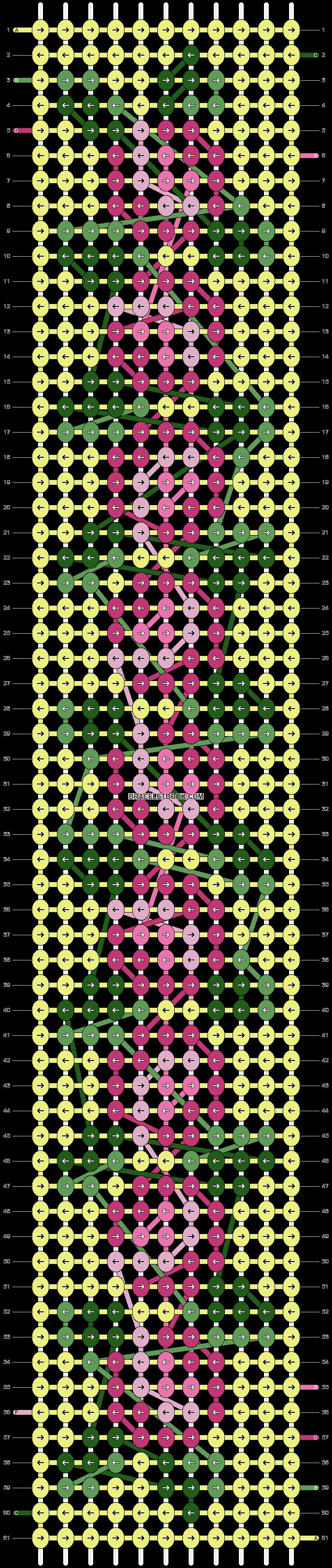 Alpha pattern #6197 pattern