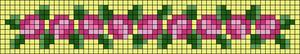 Alpha Friendship Bracelet Pattern #6197