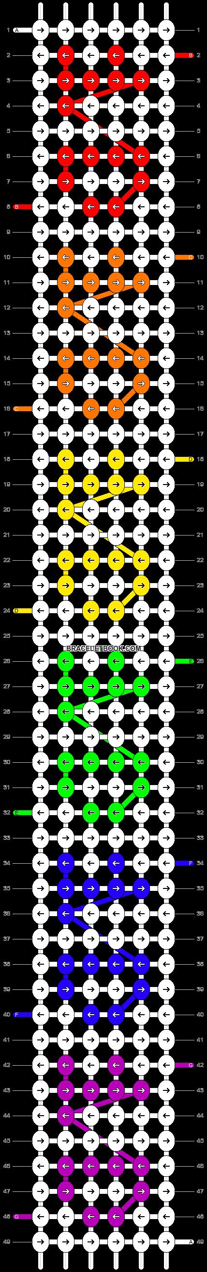 Alpha pattern #6199 pattern