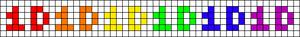 Alpha pattern #6199