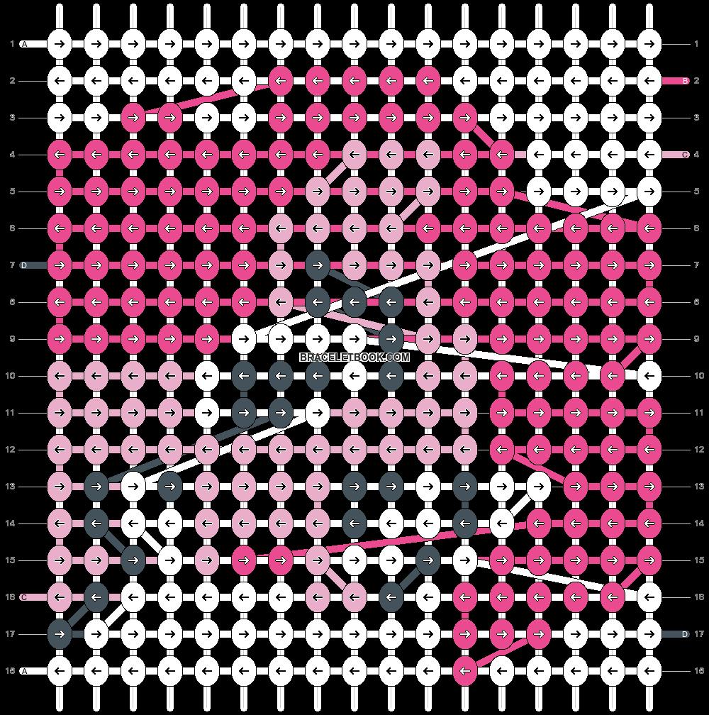 Alpha pattern #6203 pattern