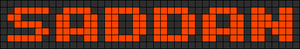 Alpha pattern #6205