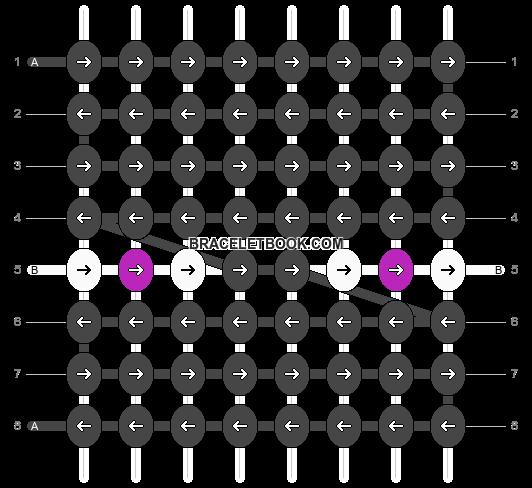 Alpha pattern #6206 pattern