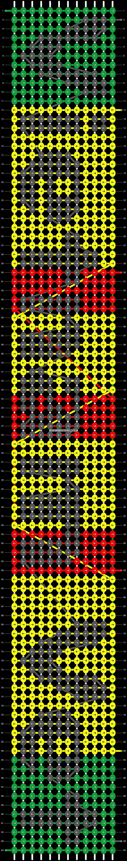 Alpha pattern #6207 pattern