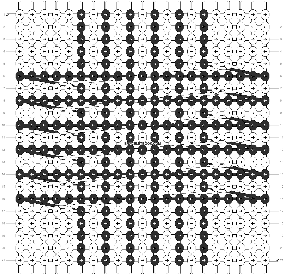 Alpha pattern #6214 pattern
