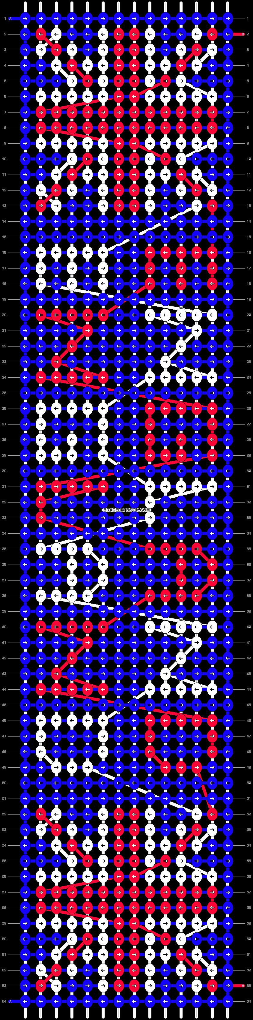 Alpha pattern #6216 pattern