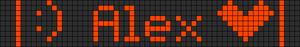 Alpha pattern #6218