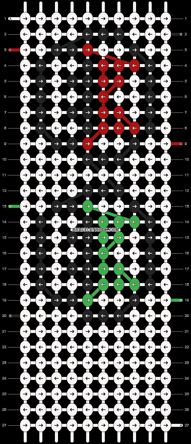 Alpha pattern #6230 pattern