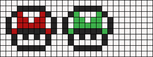 Alpha pattern #6230