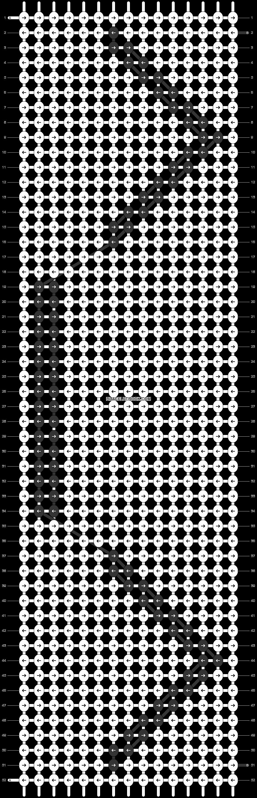 Alpha pattern #6232 pattern