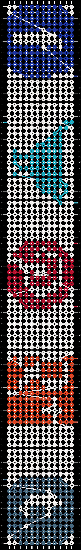 Alpha pattern #6239 pattern
