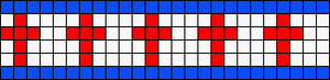 Alpha pattern #6240