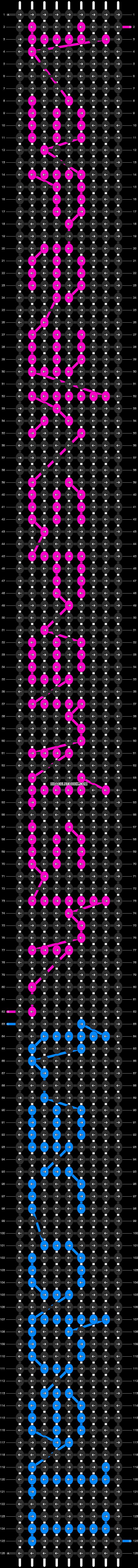 Alpha pattern #6244 pattern