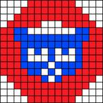 Alpha pattern #6250