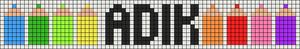 Alpha pattern #6253