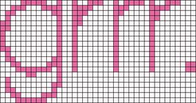 Alpha pattern #6257