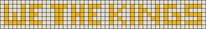Alpha pattern #6262