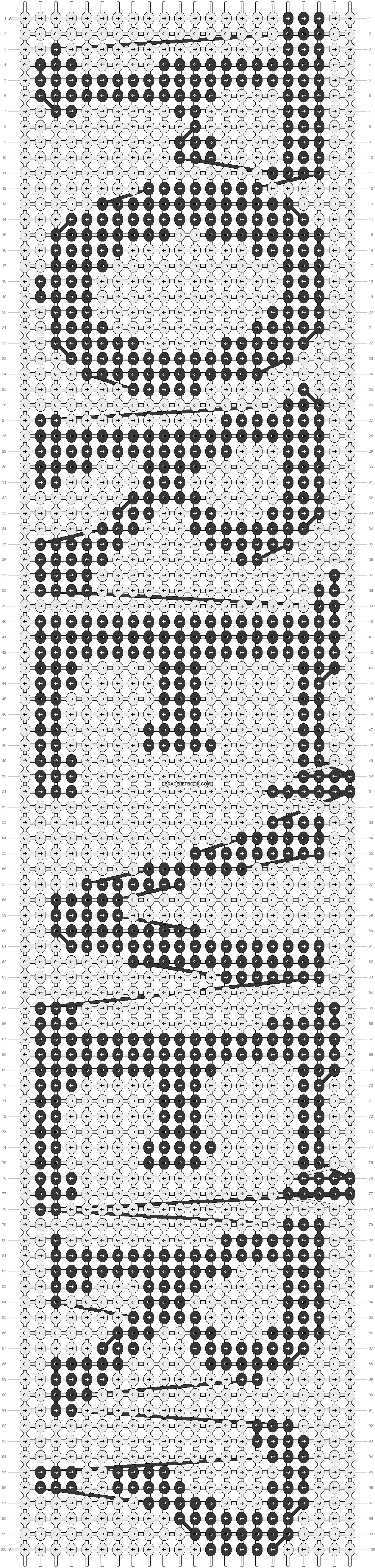 Alpha pattern #6263 pattern