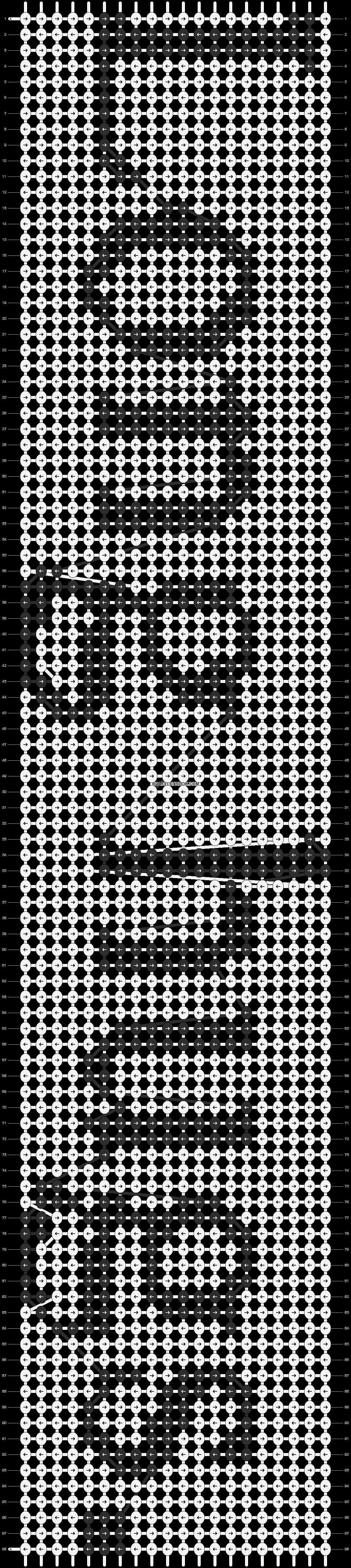 Alpha pattern #6267 pattern