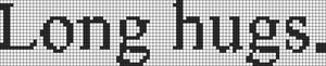 Alpha Friendship Bracelet Pattern #6267