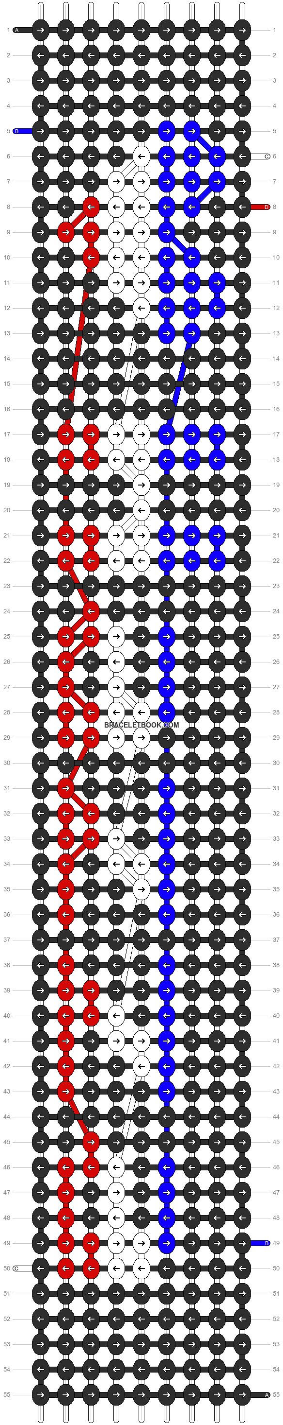 Alpha pattern #6270 pattern