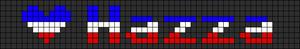 Alpha pattern #6270
