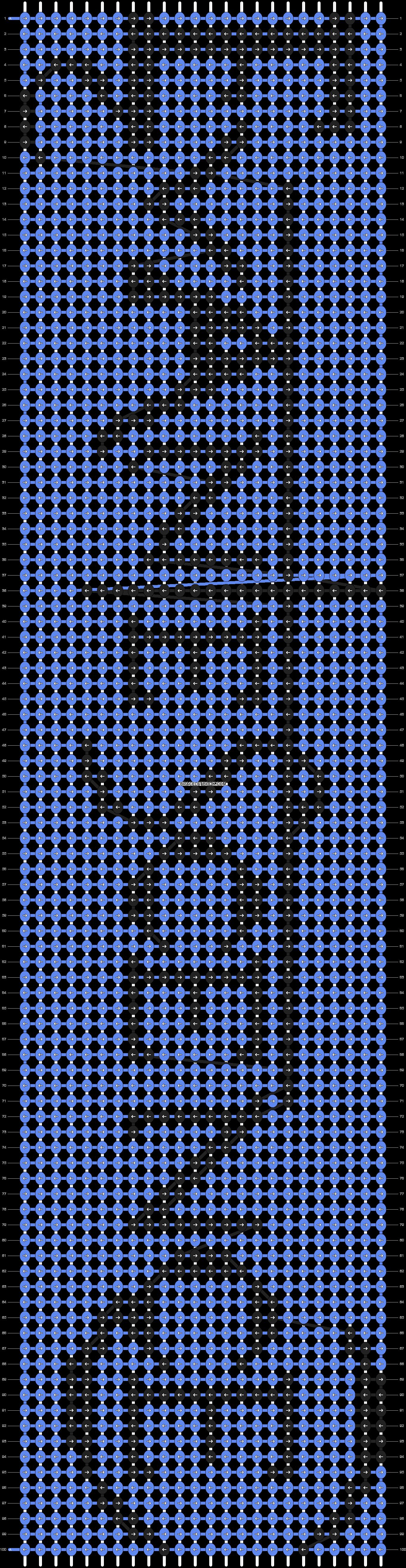 Alpha pattern #6274 pattern