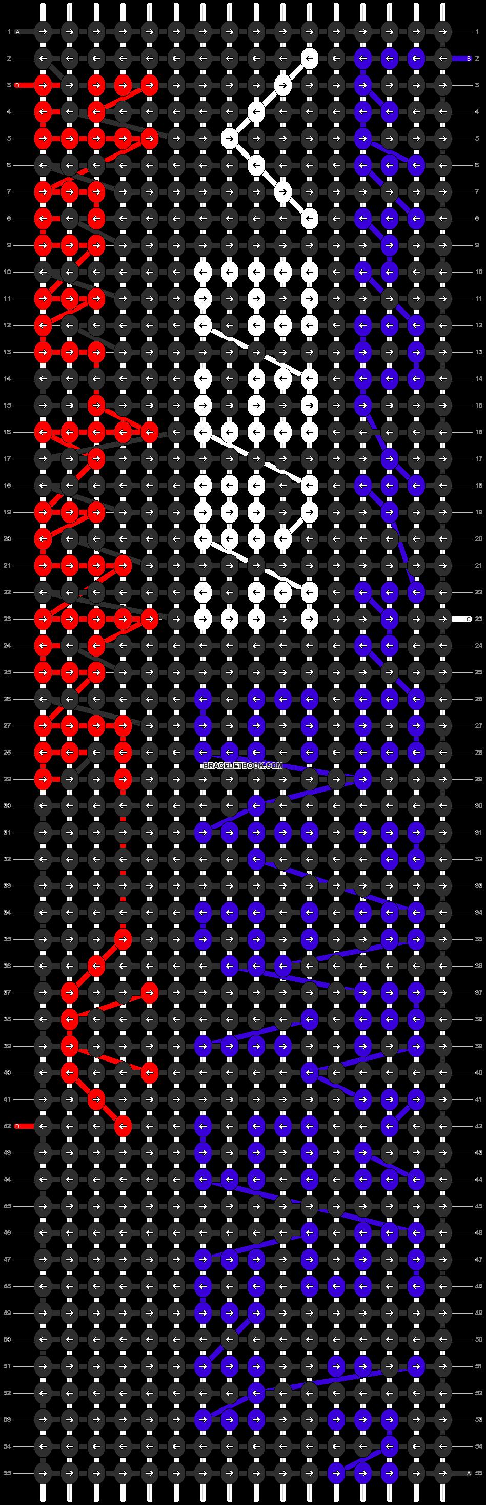Alpha pattern #6283 pattern